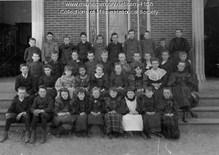 Morrill's School, Deering, ca. 1895