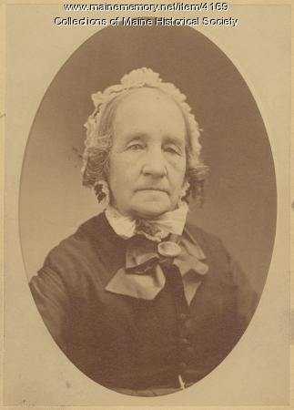 Hannah Lane Usher, Hollis, 1874