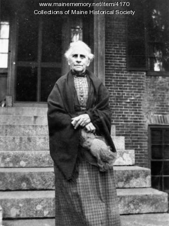 Rebecca Usher, Hollis, ca. 1900
