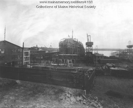 Bath Iron Works, ca. 1900