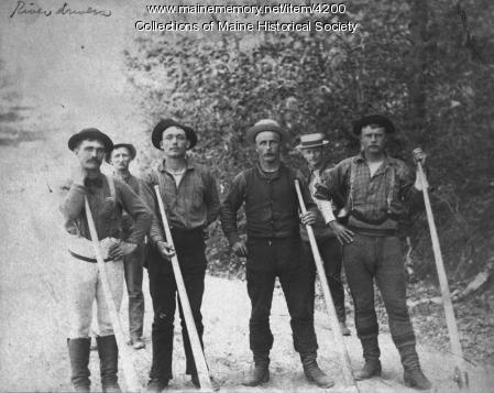 River drivers, ca. 1900
