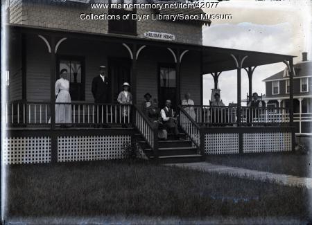 Holiday Home, Camp Ellis, ca. 1890