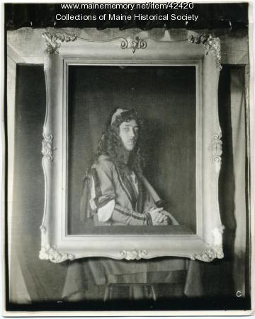 Elbridge Stoneham as 'Portrait of Durer,' Portland, 1923