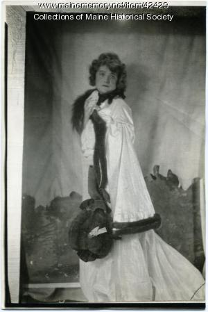 Phyliss M. St. F. Thaxter as 'Miss Farren,' Portland, 1923