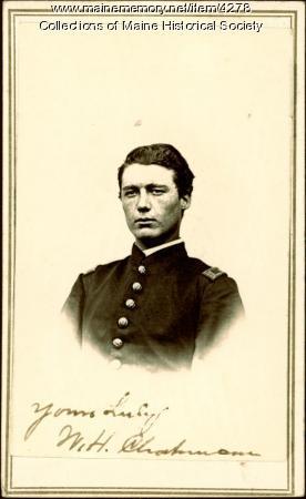 Wilmot H. Chapman, Nobleboro, ca. 1863