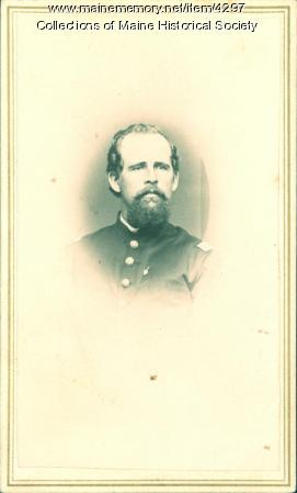 Isaac Thompson, 16th Maine Infantry, ca. 1863
