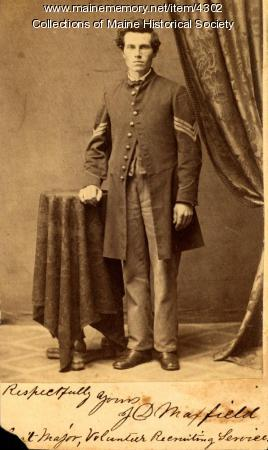 James D. Maxfield, Newport, ca. 1863