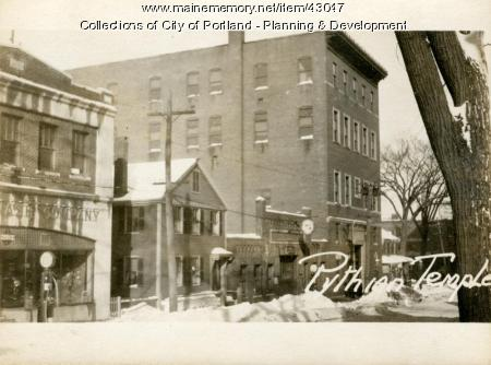 337-341 Cumberland Avenue, Portland, 1924