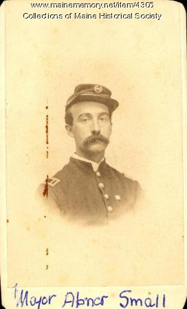 Major Abner R. Small of the 16th Maine Infantry
