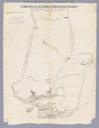 Map of Freeport, ca. 1795