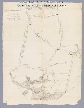 Plan of Freeport, ca. 1795