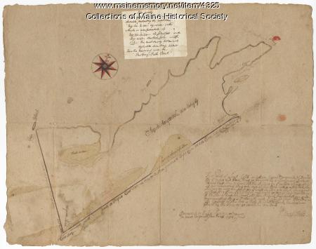 Early Bath area map, 1719