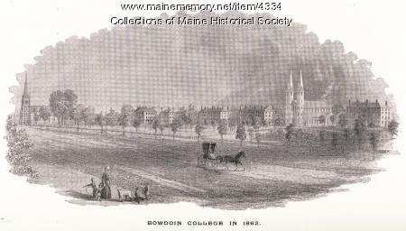 Bowdoin College, Brunswick, 1862
