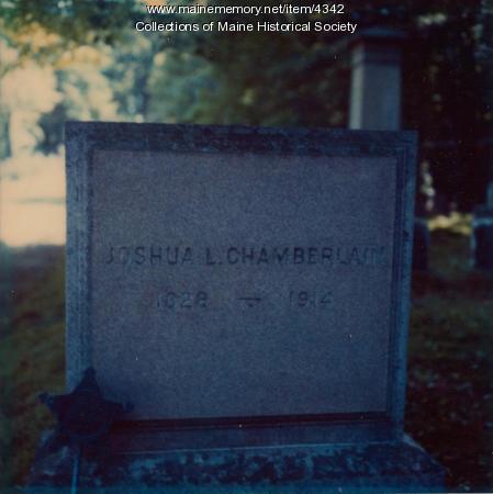 Gen. Joshua L. Chamberlain's grave site