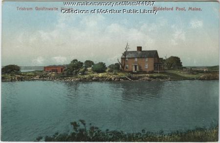 Tristram Goldthwaite House, Biddeford Pool, 1910