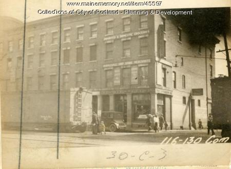 122-124 Commercial Street, Portland, 1924