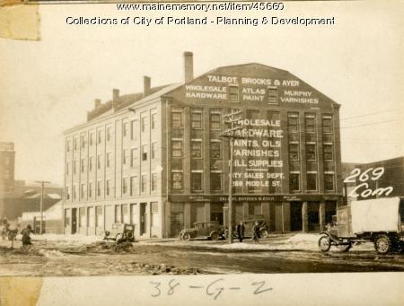 269-277 Commercial Street, Portland, 1924