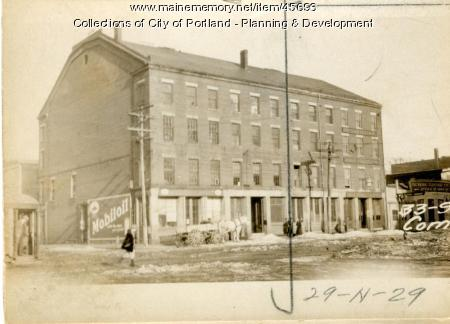 33-35 Commercial Street, Portland, 1924