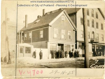 7-9 Commercial Street, Portland, 1924