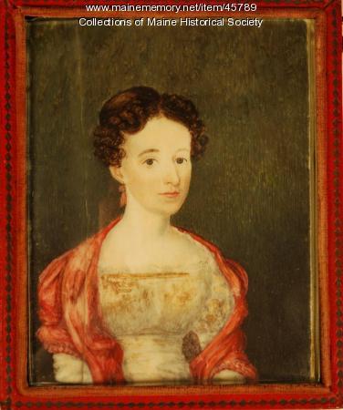 Sarah Hudson Mellen Gilman, ca. 1824