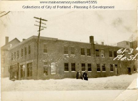 41-67 Pleasant Street, Portland, 1924