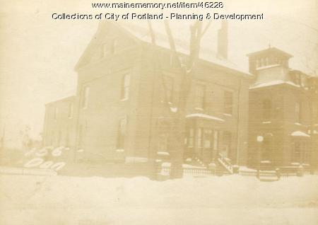 154-156 Danforth Street, Portland, 1924