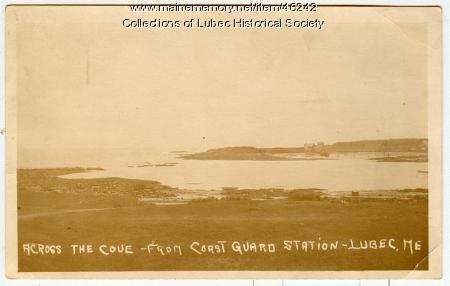 View from Coast Guard Station, Lubec, 1917