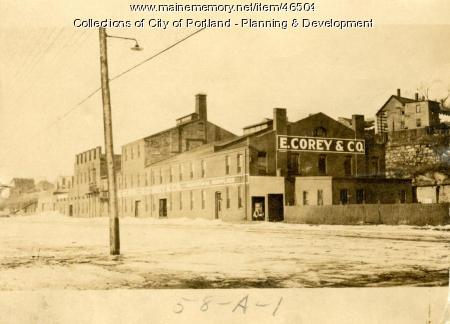 59-89 West Commercial Street, Portland, 1924