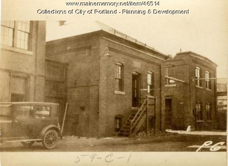 2-40 Commercial Street, Portland, 1924