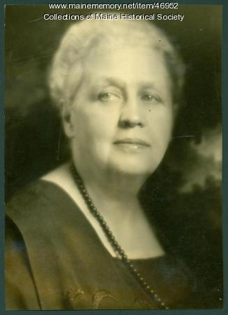 Mary L. Thompson, Portland, ca. 1930