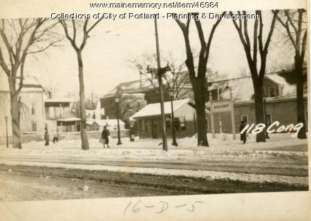 110-118 Congress Street, Portland, 1924