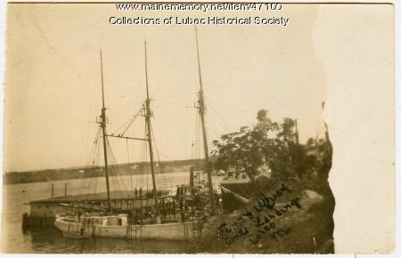 Ferry wharf, Lubec, ca. 1894