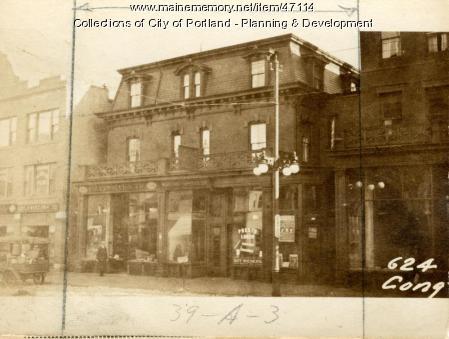 622-624 Congress Street, Portland, 1924
