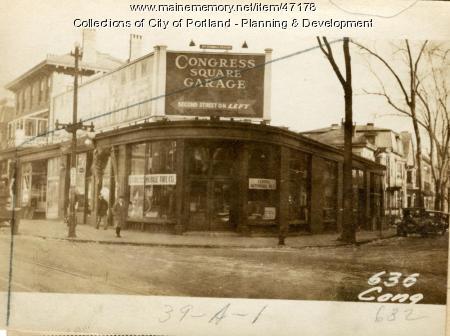 626-632 Congress Street, Portland, 1924