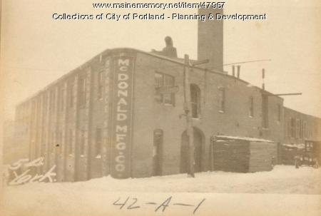 341-383 Commercial Street, Portland, 1924