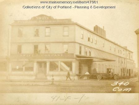336-338 Commercial Street, Portland, 1924