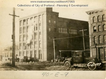 321-331 Commercial Street, Portland, 1924