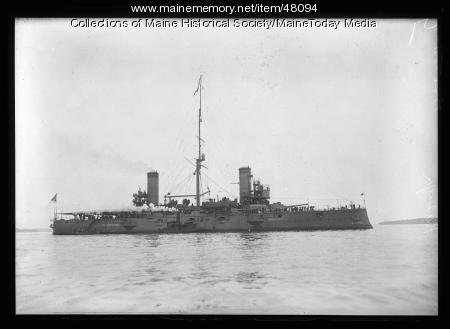 """Kasuga,"" Portland Harbor, 1920"