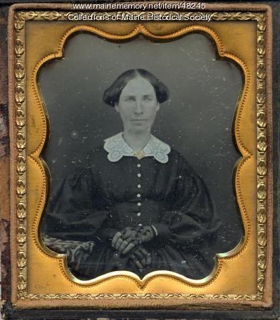 Clara Shepherd, ca. 1845