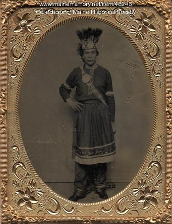 Penobscot Indian, ca. 1865
