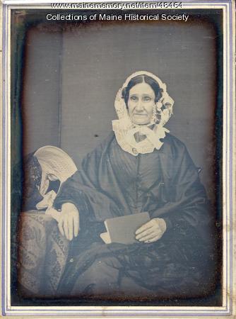 Julia Dearborn Wingate, Portland, ca. 1855