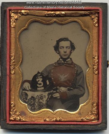 Firefighter, Skowhegan, ca. 1860