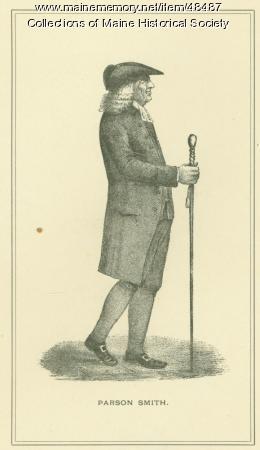 Parson Thomas Smith, Portland, ca. 1795