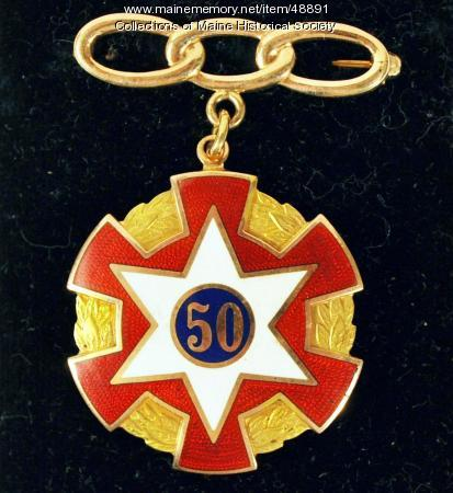 Odd Fellows medal, ca. 1940
