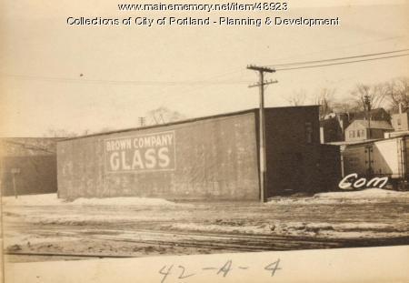 383 Commercial Street, Portland, 1924