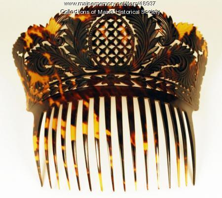 Hair comb, ca. 1820