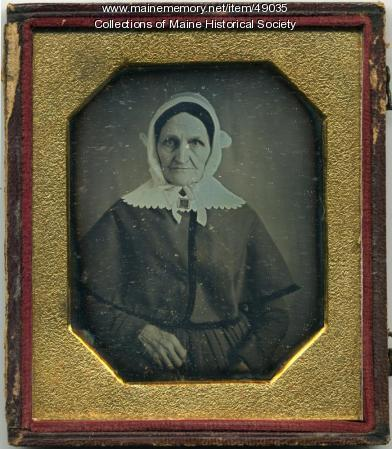 Mrs. Theophilus Candler, ca. 1850