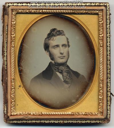 John Greenleaf Cloudman, ca. 1850