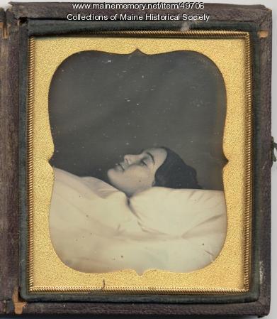 Mrs. William H. Herbert post-mortem portrait, ca. 1843