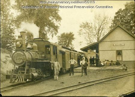 Narrow Gauge Railroad, Winslow, ca. 1905